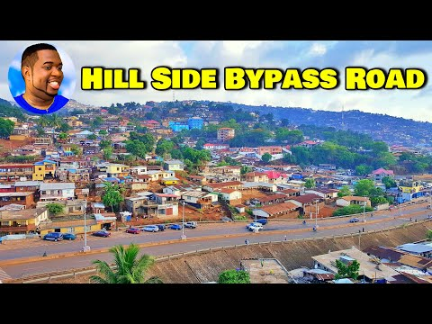 Hill Side Bypass Road Part 1 - Sierra Leone Roadtrip 2021 - Explore With Triple-A