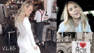 VLOG 1 | Bridal Shoot, Primark Haul & Manchester Vigil | Freya Farrington