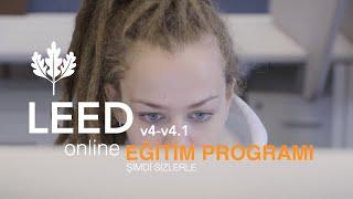 Online LEED v4-v4.1 Eğitim Programı 4K