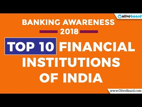 Top 10 Financial Institutions of India 2018 | NABARD Grade A | RBI Grade A | SSC