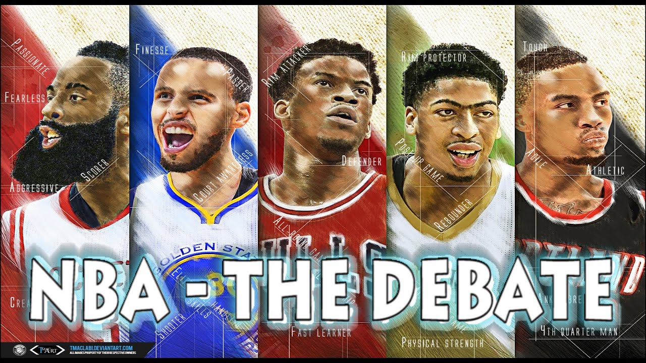 NBA - The Debate - Best Player In 5 Years - YouTube