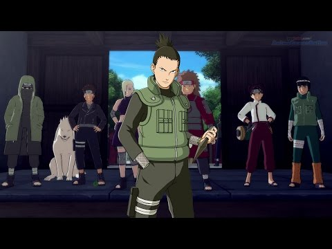 NARUTO SHIPPUDEN: The Fresh Green of the Hidden Leaf [Shikamaru's Tale] Ultimate Ninja Storm 4