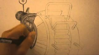 Black Ops Speed Drawing - Ray Gun