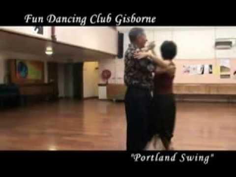 Portland Swing Sequence Dance Demonstration