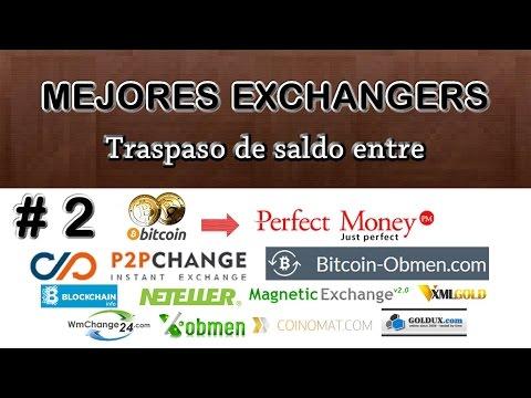 Mejores Exchanger - BITCOIN a DOLARES (Bitcoin Obmen & P2Pchange)