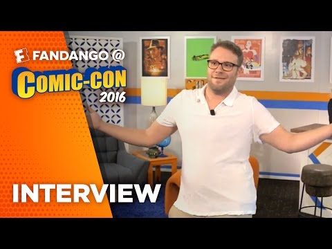 'Sausage Party' Seth Rogen Interview – COMIC CON 2016