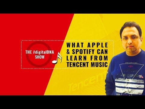 What Spotify, Amazon and Apple Music  can learn from Tencent Music Mp3