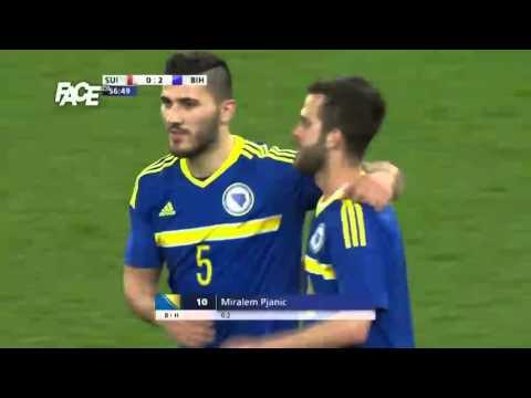 Švicarska vs. BiH - 0:2 57' Miralem Pjanić - 29. 3. 2016.