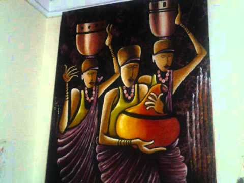 Ashe Grace Sebulime - an African Artist from Uganda.  Paintings, Sculptors and Interior Design