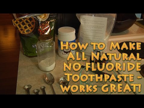 Dad's No Fluoride All Natural Toothpaste