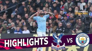 Crystal Palace vs. Manchester City: 1-3 Goals & Highlights | Premier League | Telemundo Deportes