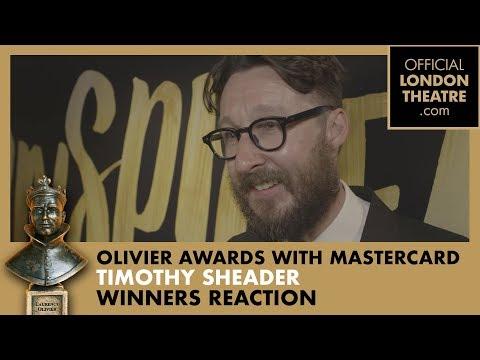Winner Reaction: Timothy Sheader for Jesus Christ Superstar