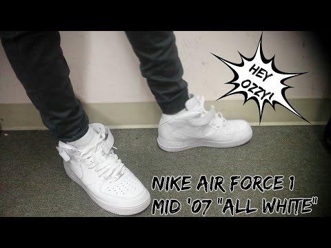 nike air force 1 mid 07 bleu