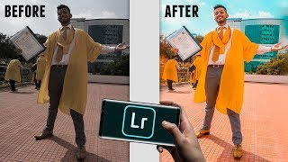 EDIT AMAZING PHOTOS ONLY USING MOBILE ! Lightroom Tutorial