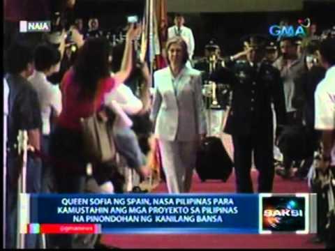 Saksi: Queen Sofia ng Spain, nasa Pilipinas