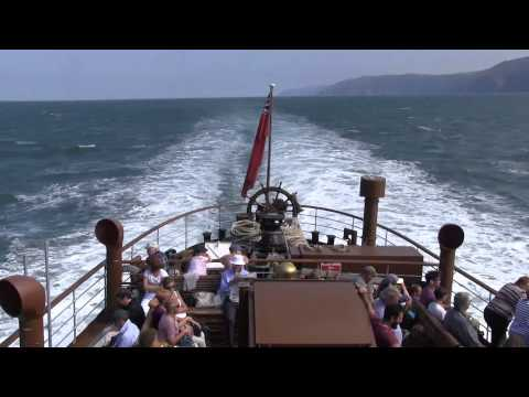 Paddle Steamer Waverley in the Bristol Channel Sept 2014
