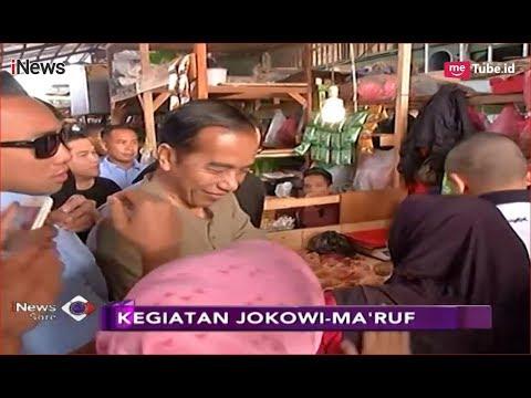 Jokowi Blusukan ke Pasar Cihaurgeulis, Ma'ruf Amin Gelar Doa Bersama di CFD - iNews Sore 11/11 Mp3