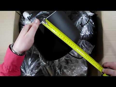 Люстра паук Lussole Loft LSP-9919 распаковка