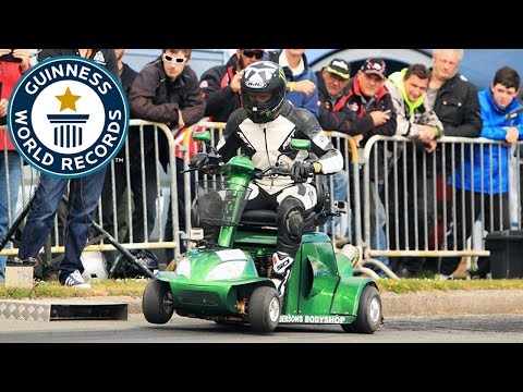 Fastest Mobility Scooter - Guinness World Records
