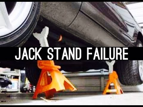 Jack Stand Failure Guy Should Dies According