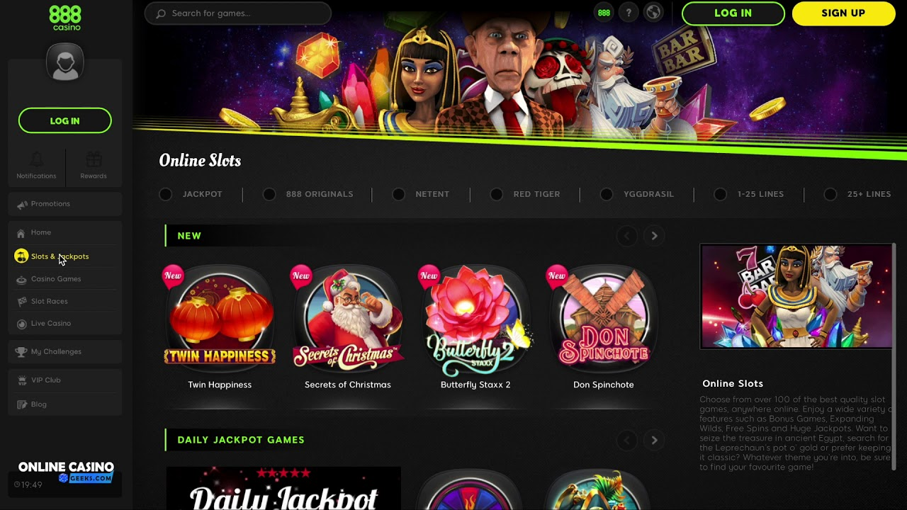 Online Casino Free 888