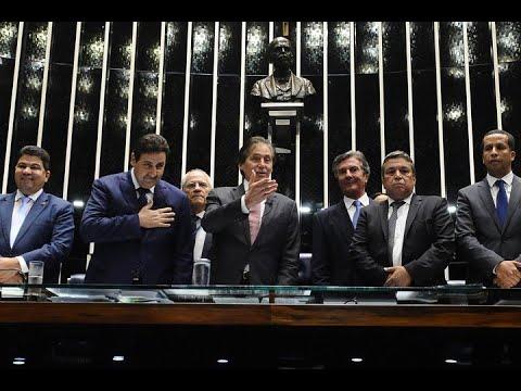 Eunício anuncia em Plenário acordo entre legislativos do Brasil e do Marrocos