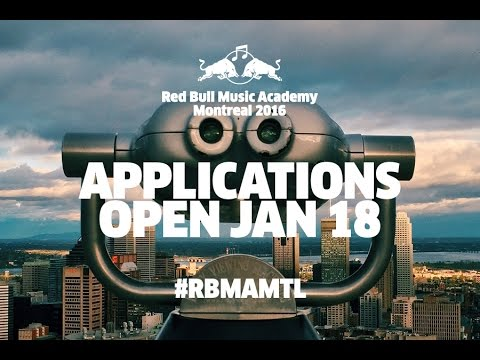 Red Bull Music Academy Heads to Montreal in 2016