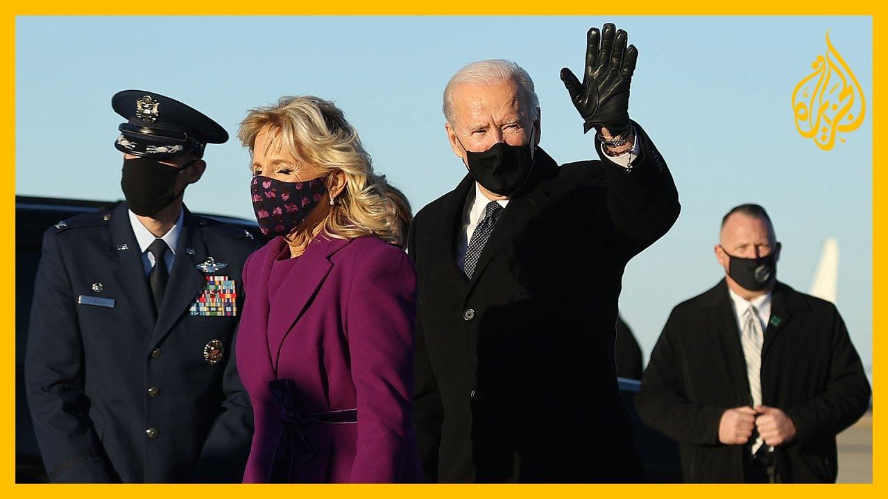 جو بايدن يصل إلى واشنطن استعدادا لتسلم السلطة  - نشر قبل 2 ساعة