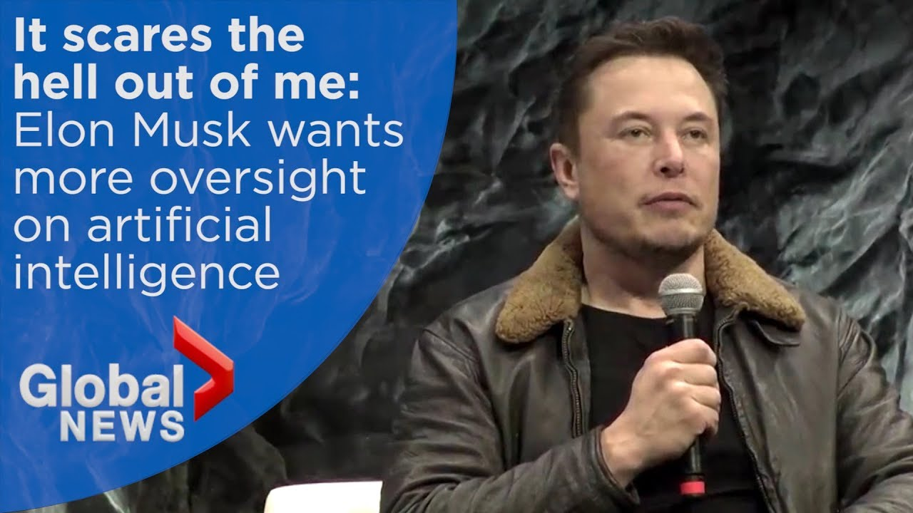 Elon Musk calls lack of A.I. oversight 'insane,' says it's more dangerous than 'nukes'