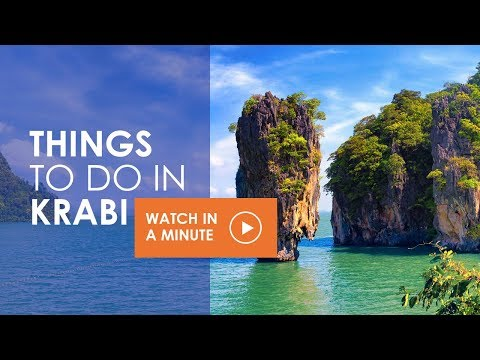 Top 8 Things To Do in Krabi - Thailand 2018 (Watch in a Minute)