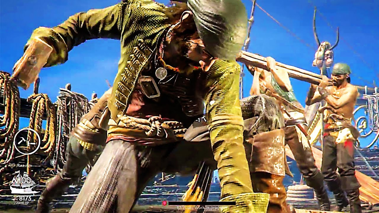 SKULL AND BONES - Co-op Gameplay Demo (2018) PS4 / Xbox One / PC