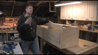 How To Build A Twin Bed W Storage Using Kreg Power Tools   Part 5