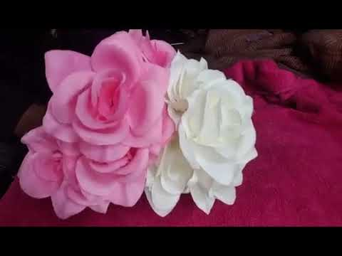 2017 DOLLAR TREE CHEAP SHABBY CHIC HOME DECOR DIY (flower vase)
