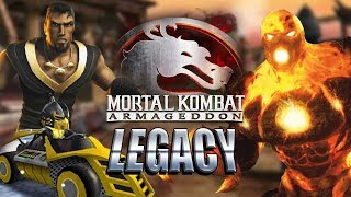 Karts, Create, Konquest & BLAZE! Mortal Kombat Armageddon - Legacy 2019