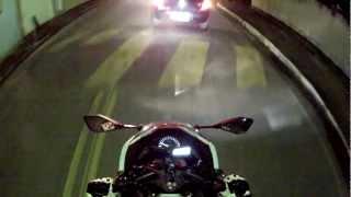 Ninja 300 - Passeio de leve pela cidade