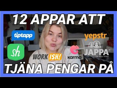 Download 12 APPAR DU KAN TJÄNA PENGAR PÅ
