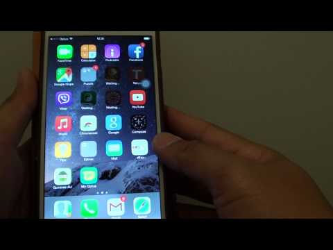 iPhone 6 Plus: How to Group Similar Apps into a Folder