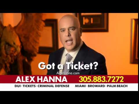 Law Offices of Alex Hanna - TV Comercial