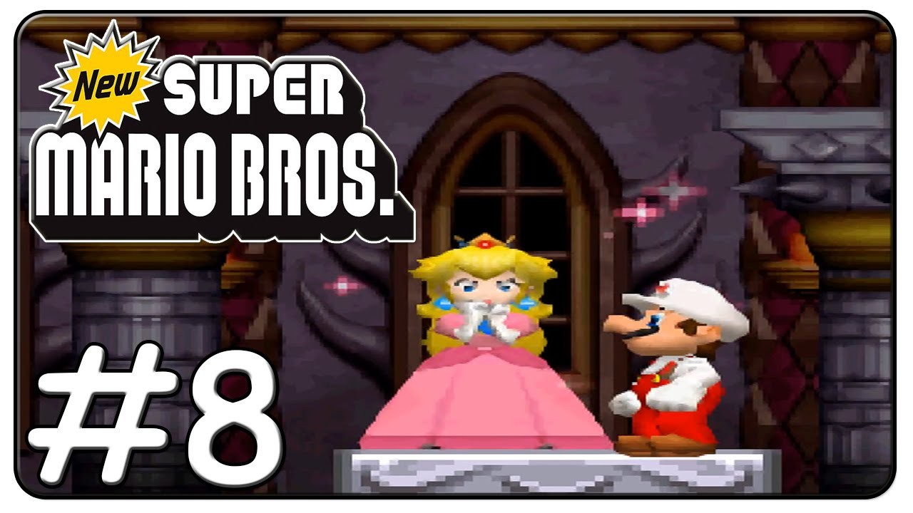 New Super Mario Bros  DS 100% Walkthrough (World 8)