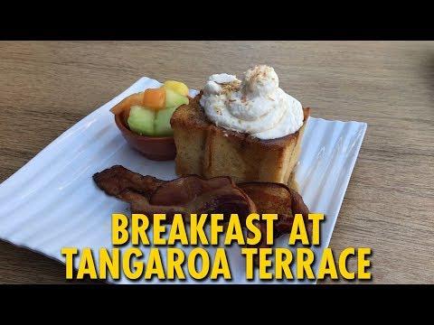 Breakfast at Tangaroa Terrace | Disneyland Hotel