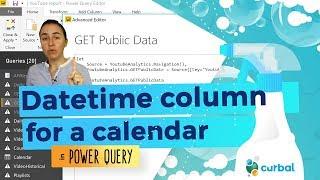 Erstellen Sie eine Datetime-Spalte in Power Query/ M Sprache - Download 44