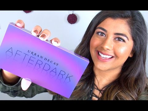 NEW Urban Decay Afterdark Eyeshadow Palette ♥ Review & Swatches!