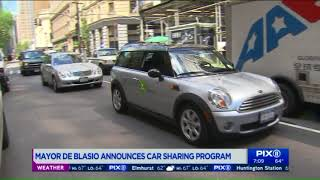 Mayor to announce car sharing program in NYC