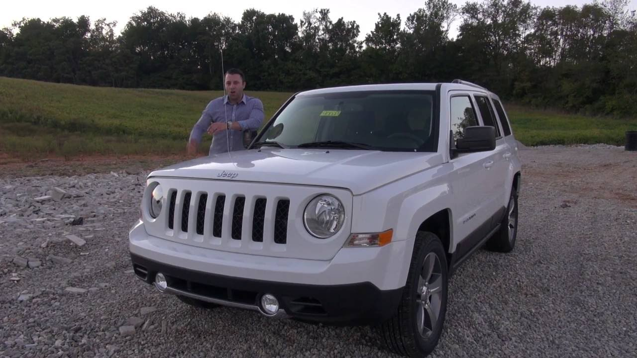 Jeep Cherokee Altitude >> 2017 Jeep Patriot - Features Review - YouTube