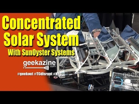 SunOyster Systems is Concentrated Solar Power - TCDisrupt 2014