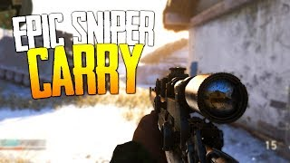 Epic Sniper Carry! - CoD: WWII Road to Commander (10th Prestige!) S1 Ep. 9!