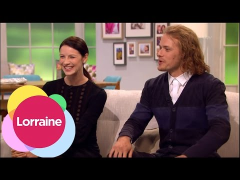 Sam Heughan And Caitriona Balfe On Marathons And Outlander Bakers | Lorraine
