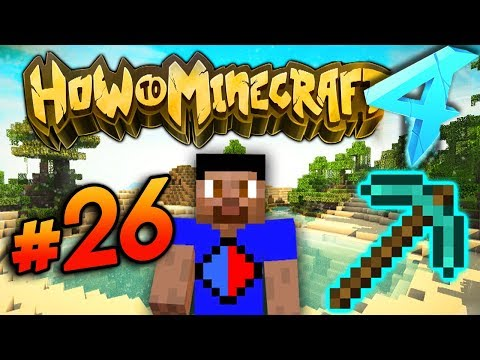 MINING MISSION! - HOW TO MINECRAFT S4 #26