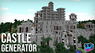 Minecraft: How to Create an Epic Castle in 1 Minute