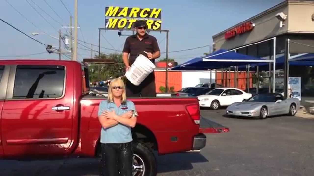 March Motors Jacksonville Fl >> The Peppermint Patty And March Motors Ice Bucket Challenge
